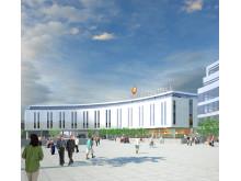 Skanska bygger Uppsalas nya gröna hotell