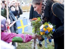 Kronprinsessparet i Kallhällsparken, Järfälla