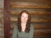 Camilla Sparring, författare till boken Matupproret
