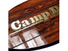 Träskylt Camp David