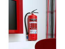 Brandsläckare 6 kg Housegard 55A Röd
