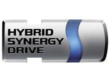 Toyota HSD Emblem