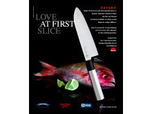 """Annonskampanj """"Love at first slice"""""""