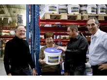 Bilder på nominerade företag: Dahlblads Nutrition AB