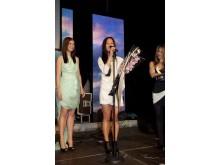 Fjorårets vinner Maria Nguyen