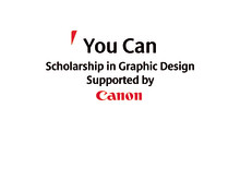 You Can Scholarship supported by Canon-logo