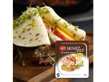 Kavli Skivet Ost med sprøstekt bacon!
