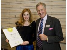 Emma Lundgren, Michael Treschow-stipendiat 2009
