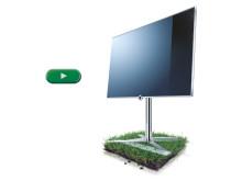 Loewe Compose LED 3D - football 2012 european championships