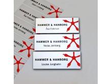 Namnskylt Hammer & Hanborg
