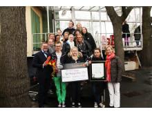 Vinnare av Årets Friendsprestation 2011 kategori Gymnasiet: Thomasgymnasiet, Strängnäs