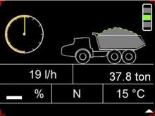 Cabin Overload Indicator - vågsystem på F-serien dumprar från Volvo
