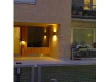 Bild 3. Fox Design belysning till kv. Kappseglingen i Hammarby Sjöstad.