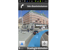 Google Maps Navigation - Street View