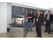 Pat Schiavone studerar en T-Ford designstudie