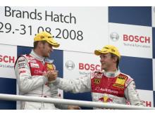 Framgångsrik motorsporthelg för Audi
