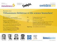 Tillsammans förbättrar vi life science branschen! Årsmöte och efterföljande konferens arrangerade av SwedenBIO