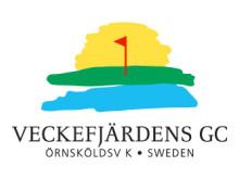 Veckefjärdens GC logotype