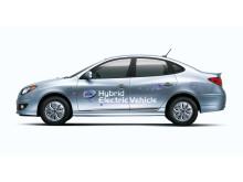 säljstart gas-och elhybrid från Hyundai