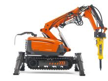 Svensk robotteknik sanerar Fukushima kärnkraftverk – Husqvarna skickar fjärrstyrda rivningsmaskiner