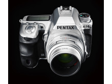 Pentax K-5 Limited Silver half-top