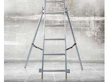Wibe ladders Nivåutjämnande säkerhetsben