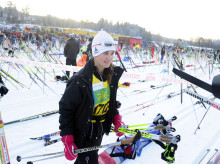 Pippa Middleton in Vasaloppet 2012