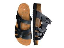 Sandal med magnetsula