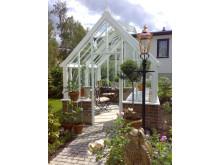Litet och läckert växthus i utkanten av Oslo
