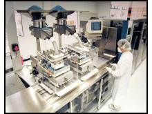 Tillverkning av läkemedel i Pfizers fabrik