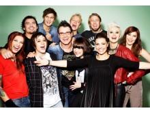 Idol Live! Turné gruppbild