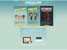 Equalize startsida – tre dataspel om diabetes, www.equalize.se