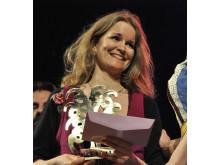 Susanne Lind fick Framtidspriset vid Folk- & Världsmusikgalan