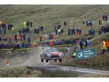 C4 WRC i Wales 2009