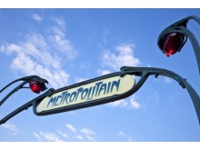 France Paris metro sign dreamstime
