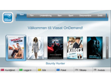 Viasat OnDemand i LGs TV-apparat
