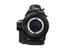 Canon Cinema EOS C100 framifrån