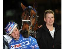 Rikard och Robert Skoglund tillsammans med Vildvitter