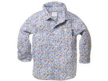 Polarn O. Pyret: Blommig skjorta