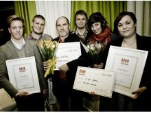 Vi på Filten och Ale Möller är 2009 års Teskedsstipendiater