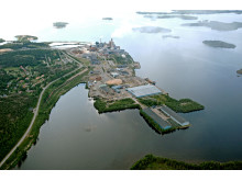Start för muddring av farled till Karlsborgs hamn
