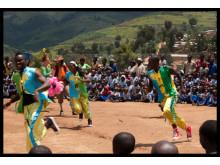 Gisenyi Acrobats från Rwanda