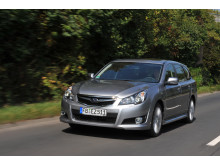 Subaru Legacy med Boxer-CNG