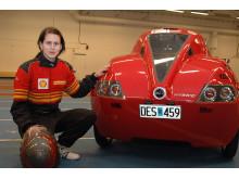 Baldos II drar minst bränsle i Sverige