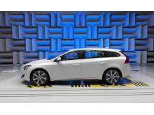 Volvo V60 Plug-in Hybrid, test at the sound lab