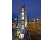 Flat Iron Building, Stockholm. Miljöcertifierad enligt LEED.