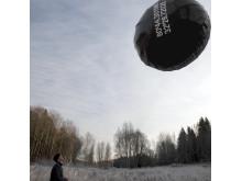 Vinyltext Ballong