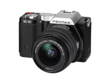 Pentax K-01 black with 18-55mm