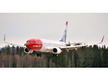 Norwegians Boeing 737-800 LN-NOJ