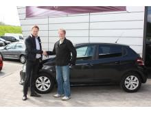 Peugeots nye 208 overrækkes til vinderen